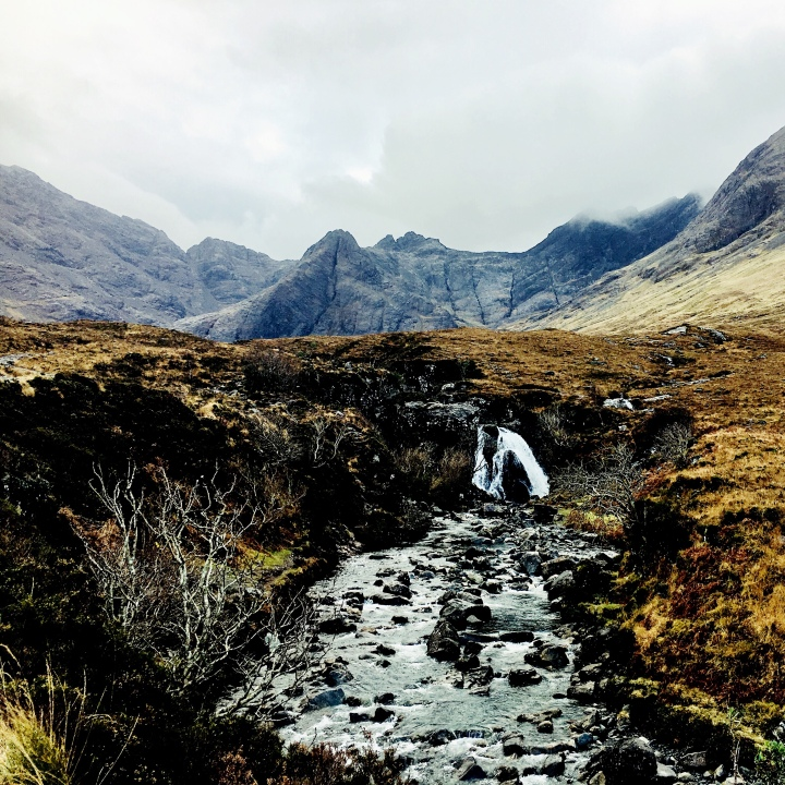 The Fairy Pools, Isle of Skye, Scotland.