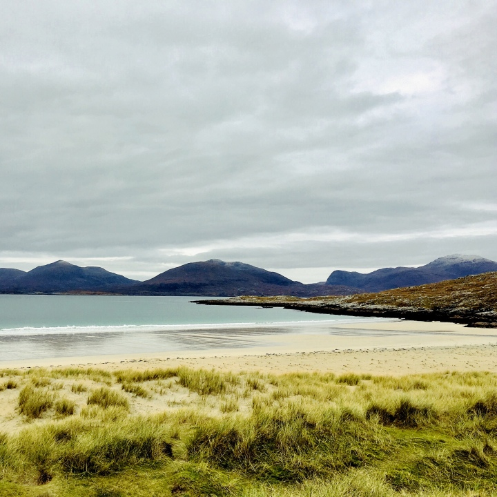 Luskentyre Beach, Harris, Scotland.