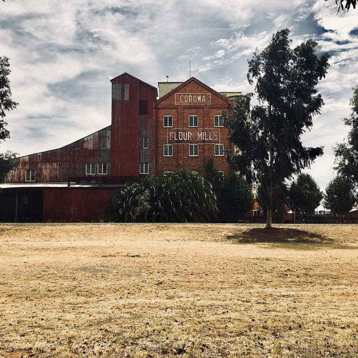 Old flour mill in Corowa, New South Wales, Australia.