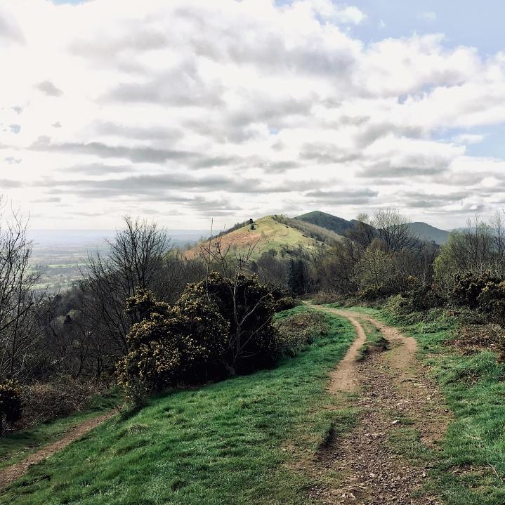 The Malvern Hills, Worcestershire, England.
