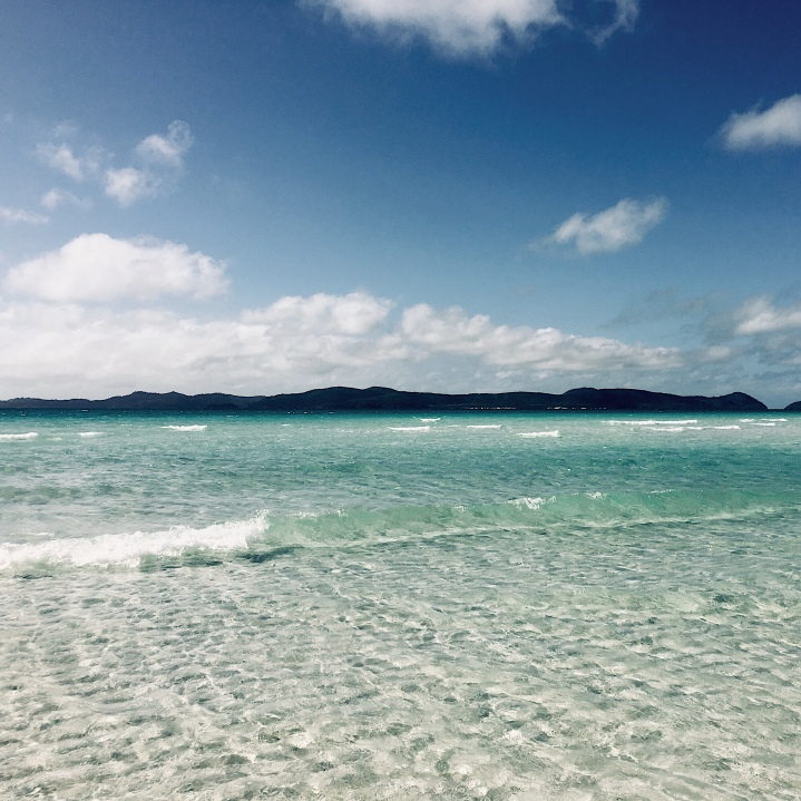 Whitehaven Beach, Whitsunday Islands, Queensland, Australia.