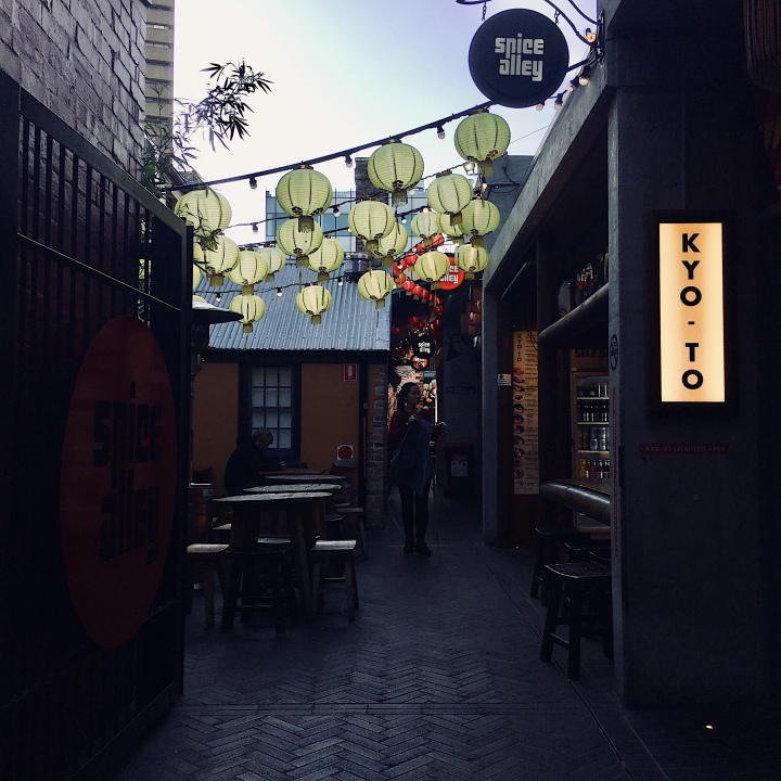 Spice Alley, Chippendale, New South Wales, Australia.