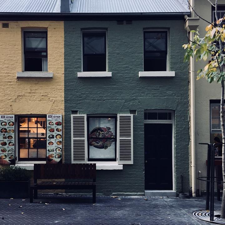 Kensington Street, Chippendale, New South Wales, Australia.