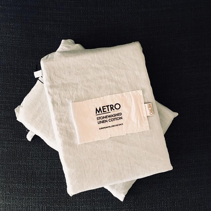 Adairs European pillow cases.