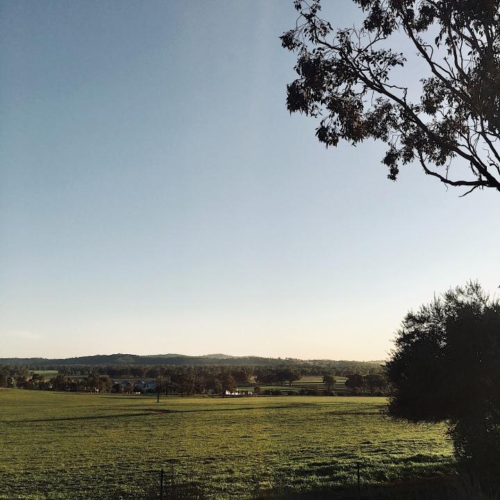 Farmland near Wagga Wagga, New South Wales, Australia.