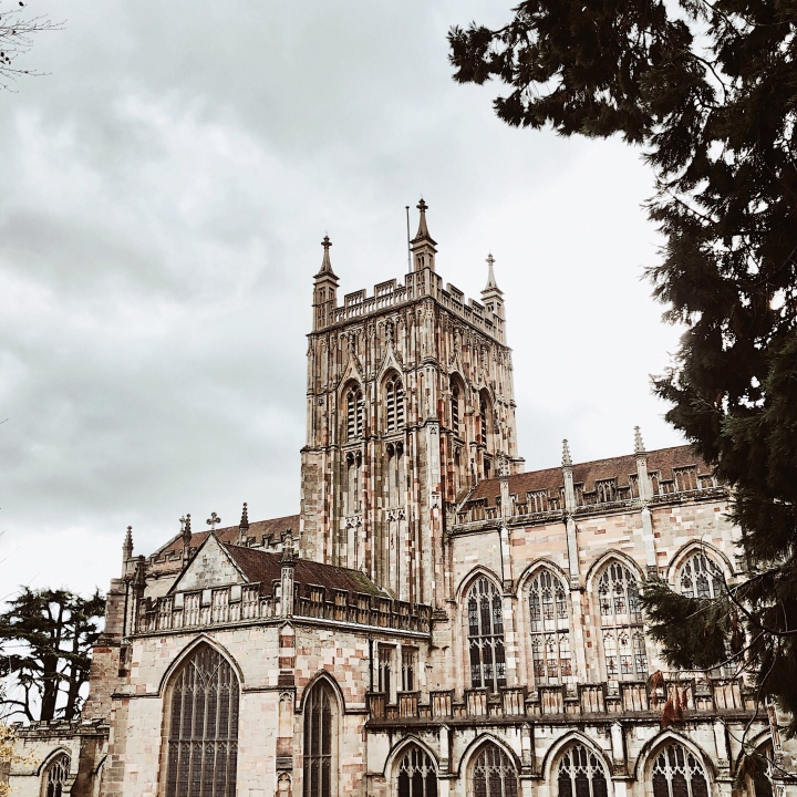 Great Malvern Priory, Worcestershire, England.