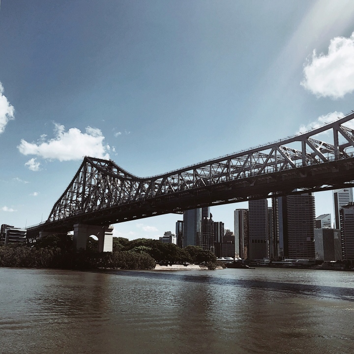 The Storey Bridge, Brisbane, Queensland, Australia.