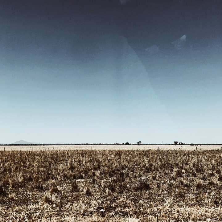Plains in the Riverina region of New South Wales, Australia.
