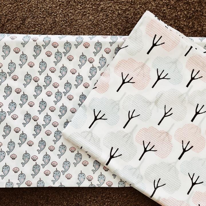 Cot sheets.