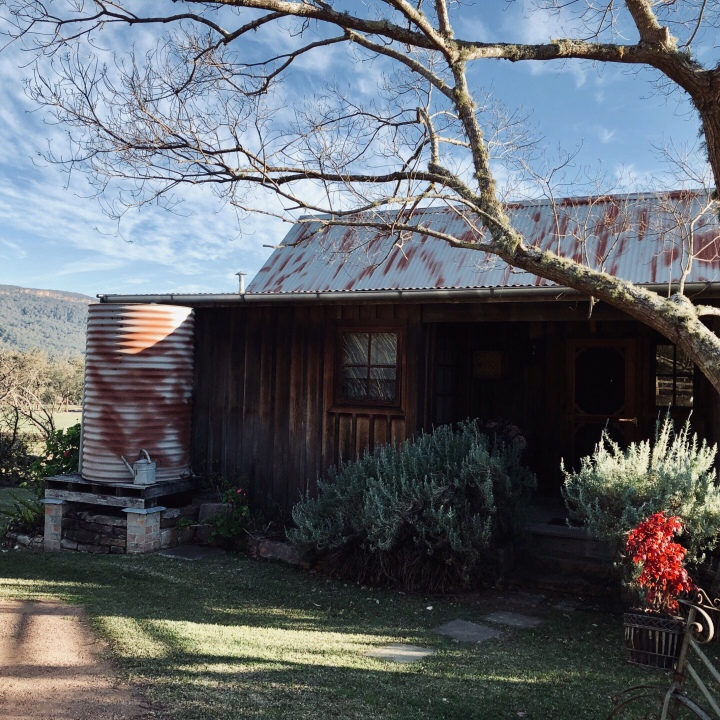 Settlers Cottage in Kangaroo Valley, New South Wales, Australia.