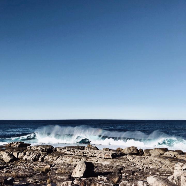 Moes Rock, Jervis Bay Territory, Australia.