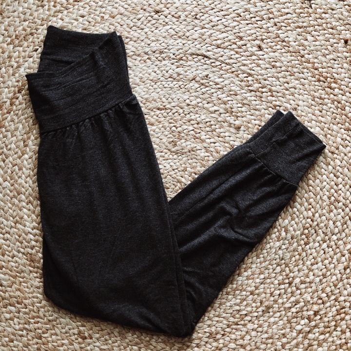 Flatlay of Ripe jersey lounge pant.