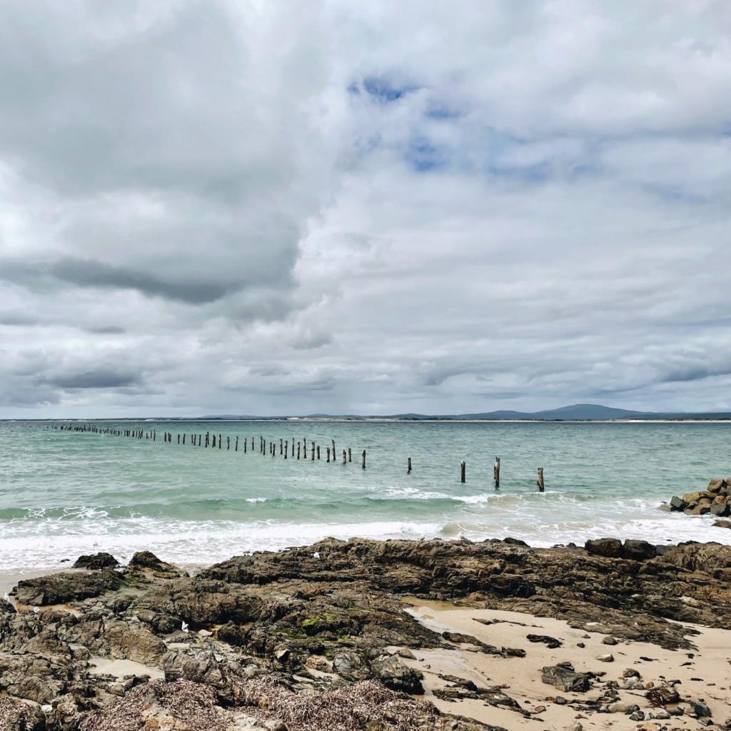 The beach at Bridport, Tasmania, Australia.