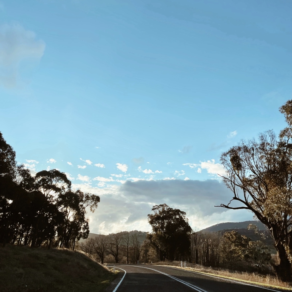 The Tooma Road, south of Tumbarumba in New South Wales, Australia.